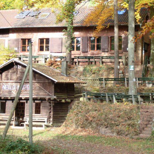 Nello-Hütte Herbst